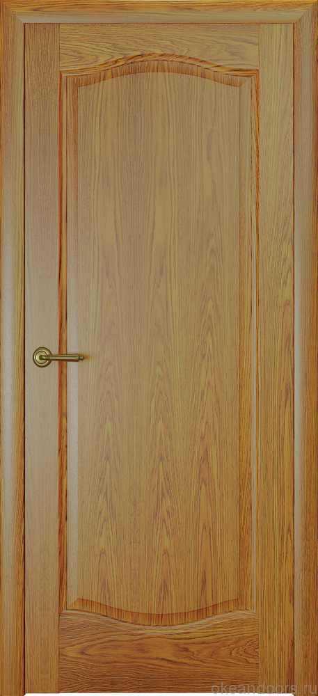 Двери Океан Аврора (натуральный дуб золотой)