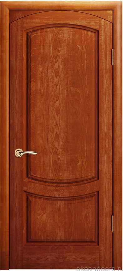 Двери Океан Лувр (красное дерево)