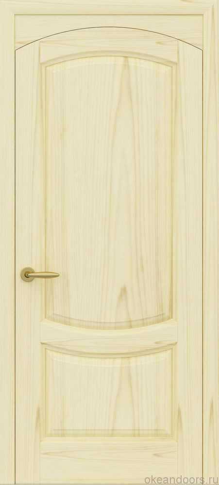Двери Океан Лувр (ясень слоновая кость)