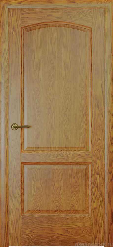 Двери Океан Женева (натуральный дуб золотой)