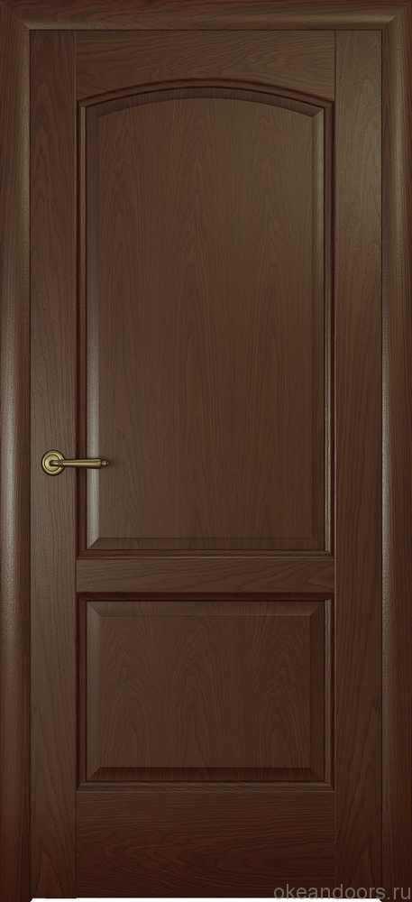 Двери Океан Женева (натуральный дуб шоколад)