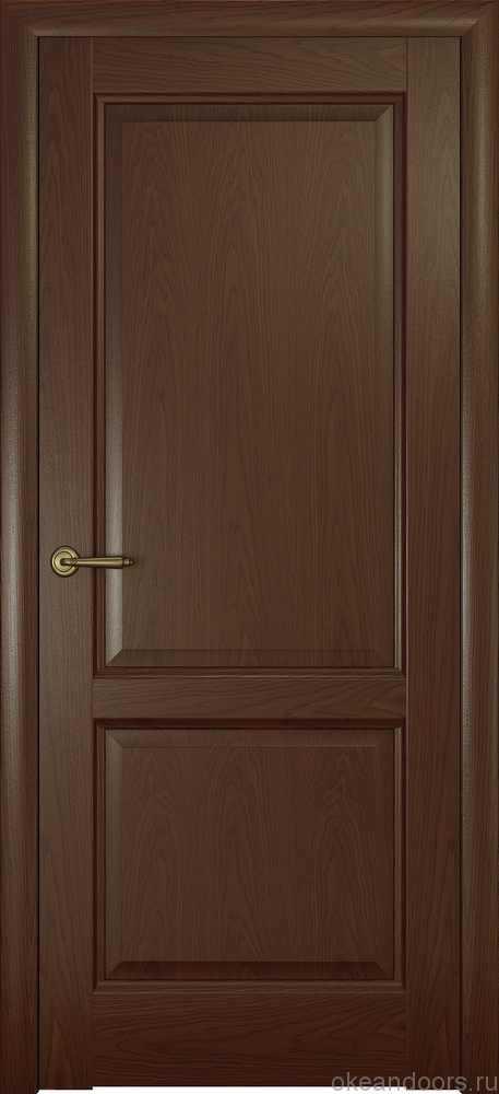 Двери Океан Парма (натуральный дуб шоколад)