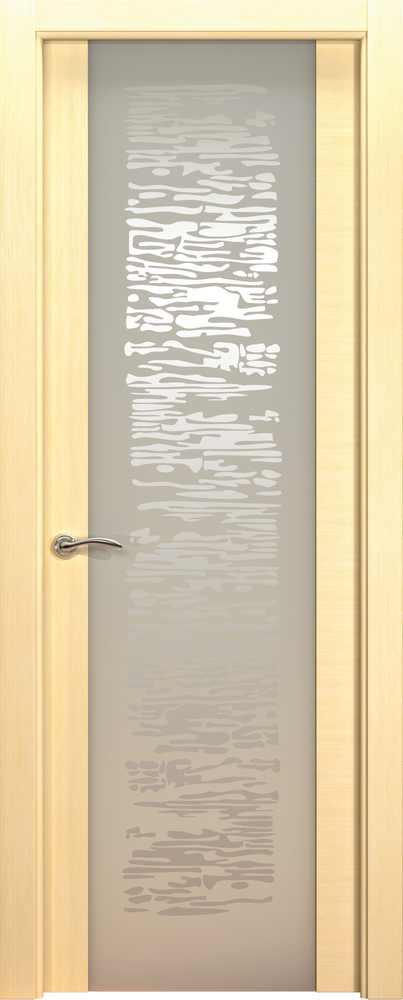 Двери Океан de Vesta P (беленый дуб), стекло EGO белое