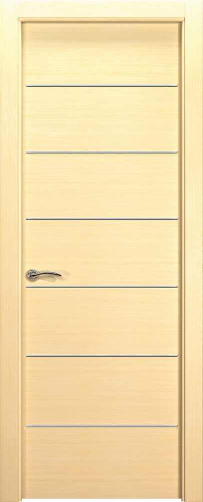 Двери Океан de Vesta Sigma (беленый дуб), глухая с молдингами