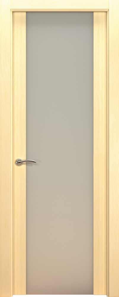 Двери Океан de Vesta P (беленый дуб), стекло белое