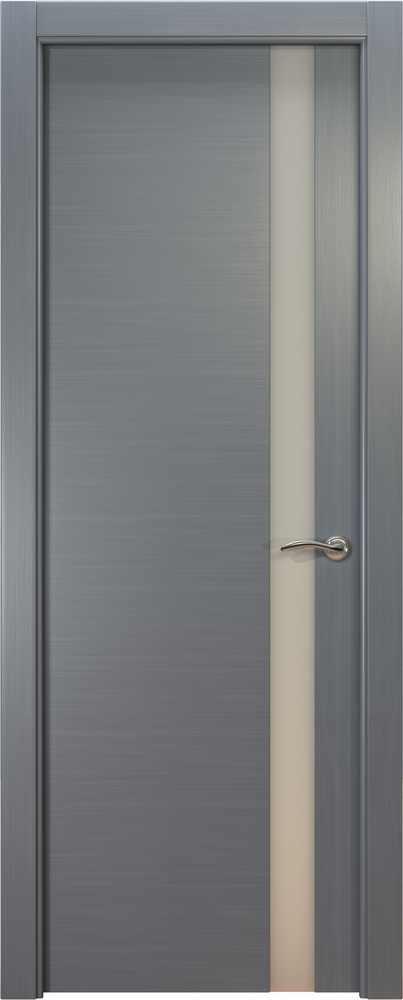 Двери Океан de Vesta (серебристый дуб), стекло белое