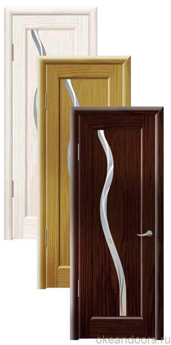 Коллекция дверей Океан Новая Волна Z (10 цветов, белое стекло)