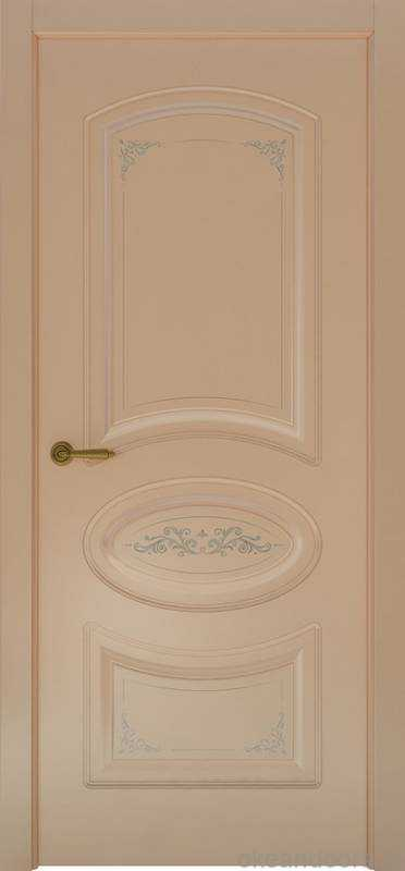 Дверь Океан Provence 1 Flora (капучино, глухая)