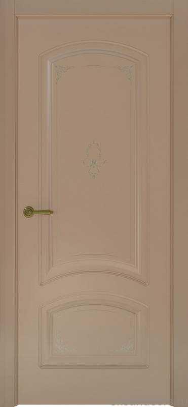 Дверь Океан Provence 4 Flora (мокко, глухая)