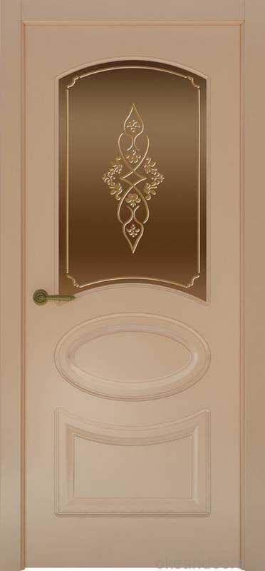 Дверь Provence 1 (капучино, стекло бронзовое Арабеска)
