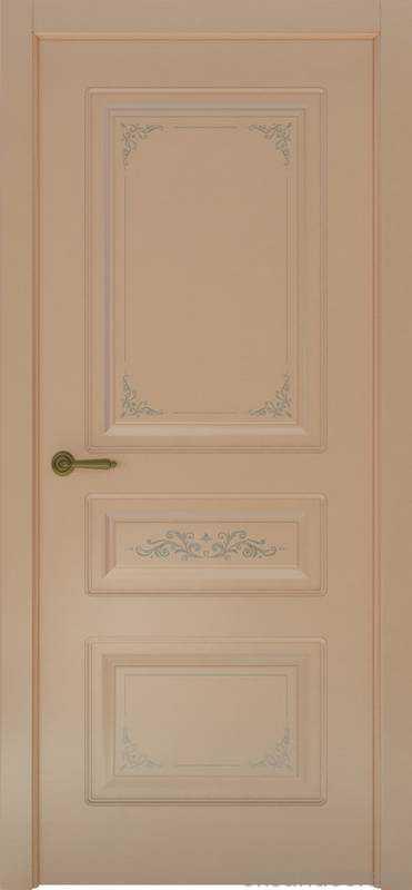 Дверь Океан Provence 3 Flora (капучино, глухая)