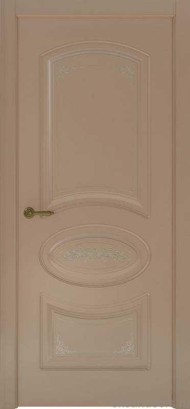 Дверь Океан Provence 1 Flora (мокко, глухая)