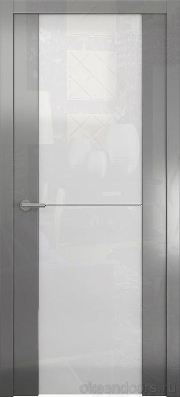 Avorio-1 (глянец / стекло белое / графит)
