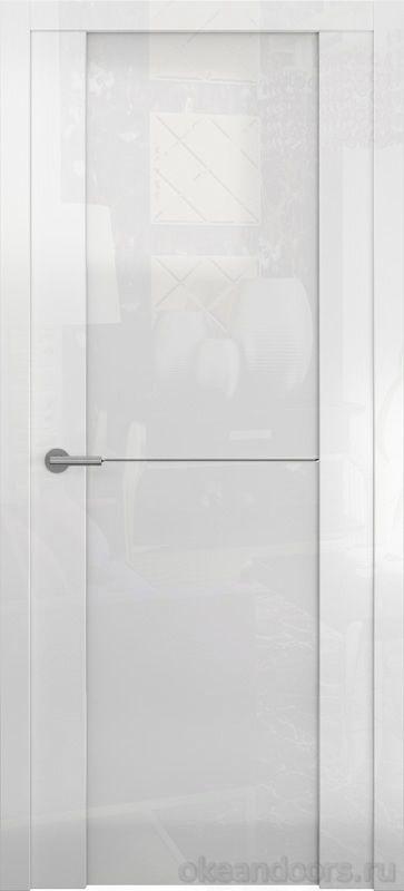 Avorio-1 (глянец / стекло белое / белое)