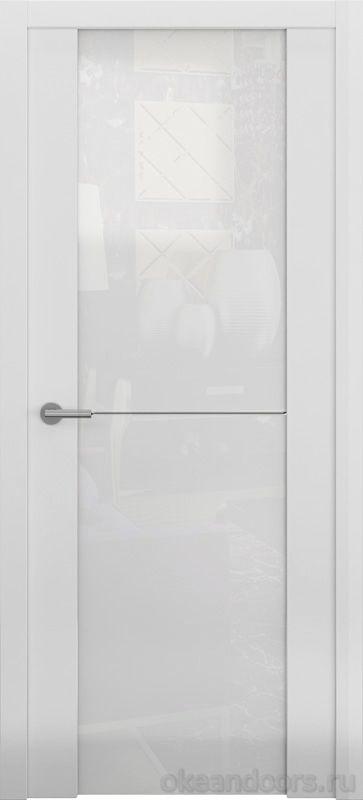 Avorio-1 (матовое / стекло белое / белое)