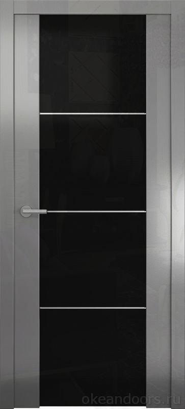 Avorio-2 (глянец / стекло тонированное/ графит) м