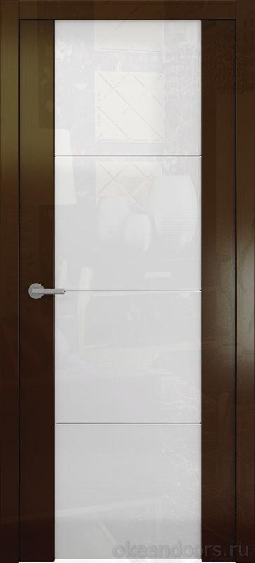 Avorio-2 (глянец / стекло белое / винтаж)ec-vintazh-0007