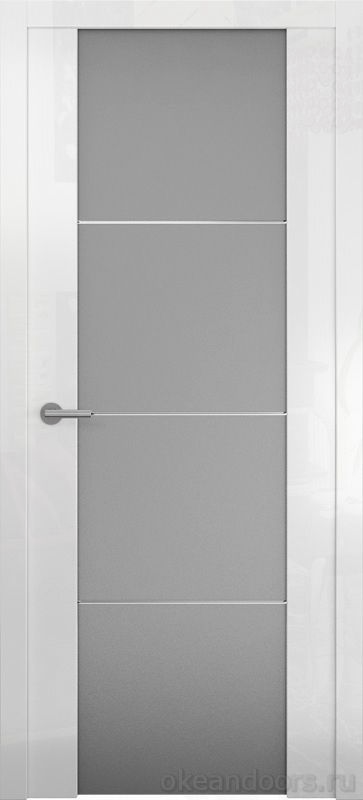 Avorio-2 (глянец / стекло белое матовое/ белое)