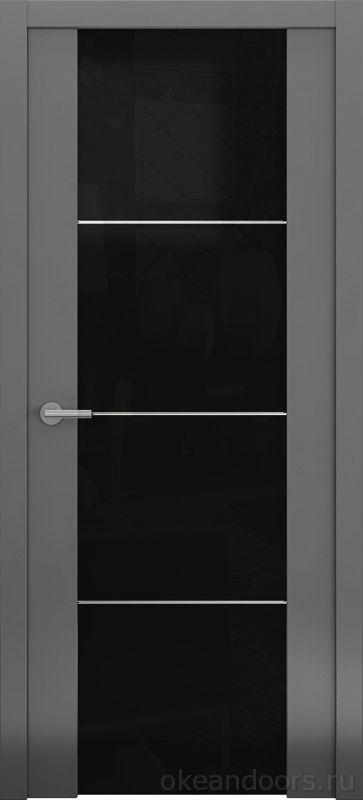 Avorio-2 (матовое / стекло белое тонированное / графит)