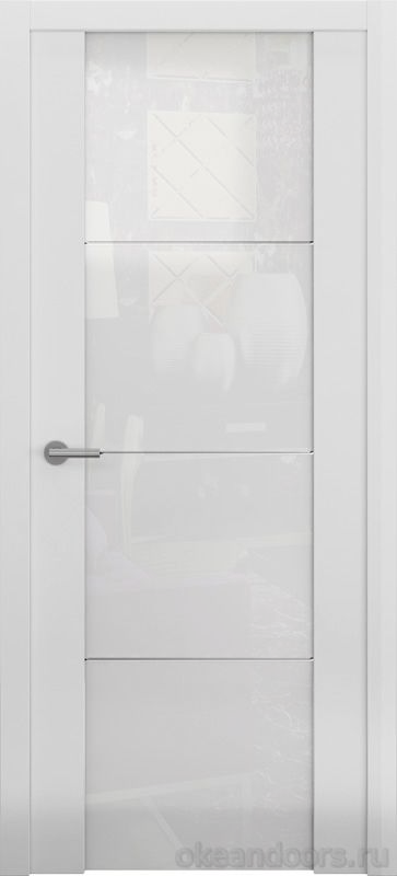 Avorio-2 (матовое / стекло белое / белое)