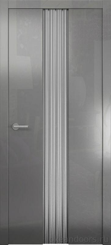 Avorio-3 (глянец / стекло белое матовое / графит)