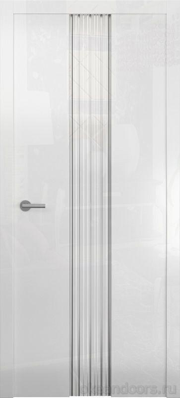 Avorio-3 (глянец / стекло белое / белое)
