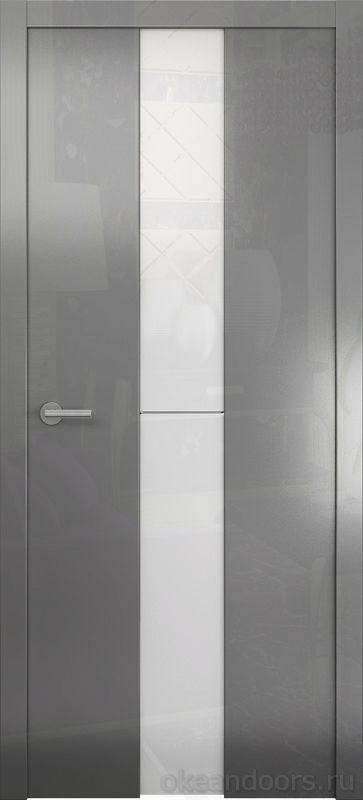 Avorio-4 (глянец / стекло белое / графит)