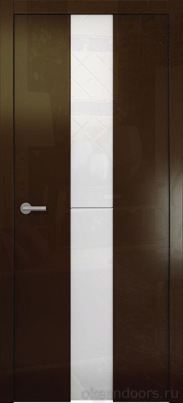 Avorio-4 (глянец / стекло белое / винтаж)
