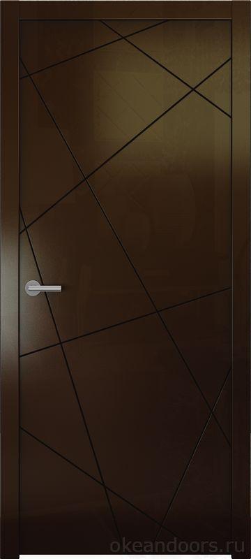 Avorio-6 (винтаж глянец, дизайн полотна Line)