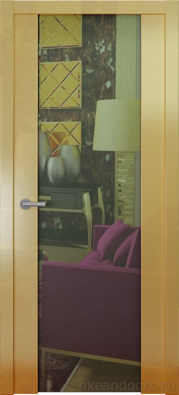 Avorio-7 (мокко глянец, зеркало)