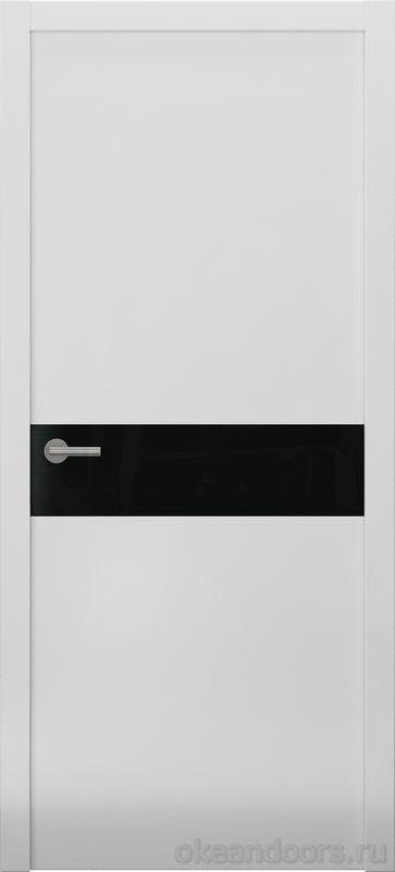 Avorio-9 (белое матовое / 9 цветов, глянец / черная стеклянная вставка)