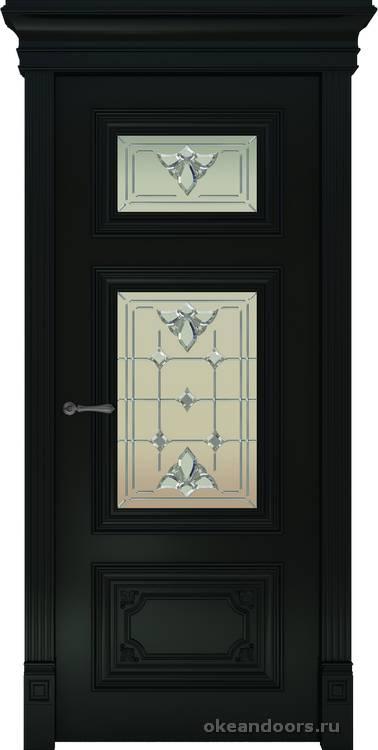 Dinastia-3 (стекло Классика, черный)