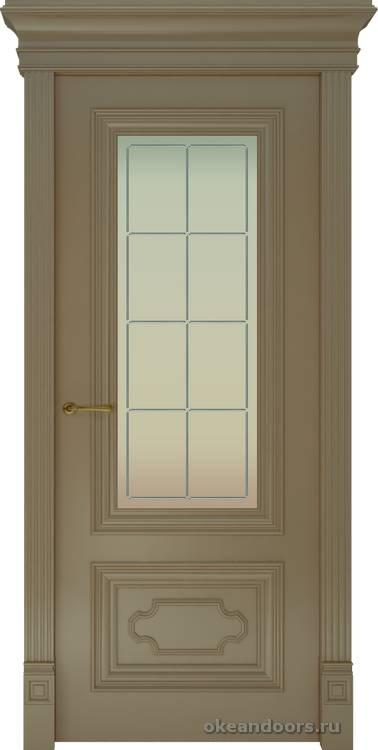 Dinastia-1 Ажур (стекло Решетка, мокко)