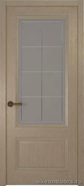 Riva classica, дуб натуральный стекло белое Решетка