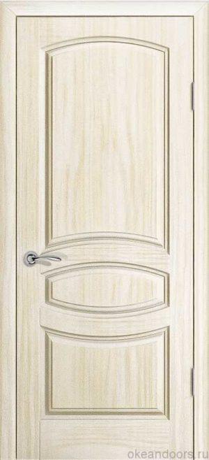 Двери Океан Изабелла (Ясень белый жемчуг)