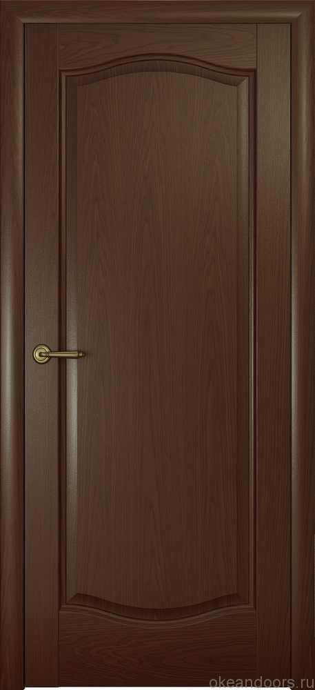 Двери Океан Аврора (натуральный дуб шоколад)