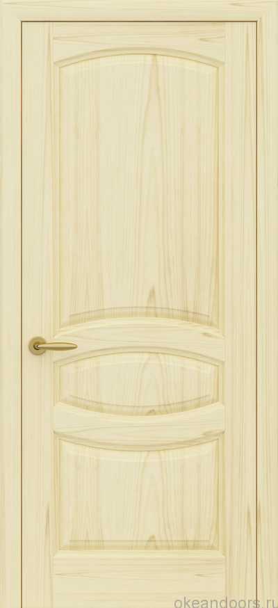 Двери Океан Изабелла (ясень слоновая кость)
