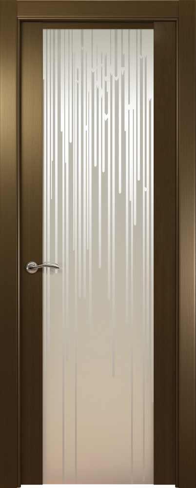 Двери Океан de Vesta Flex (венге), стекло белое