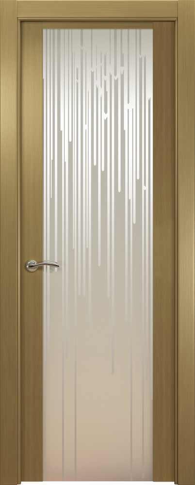 Двери Океан de Vesta Flex (серый дуб), стекло белое