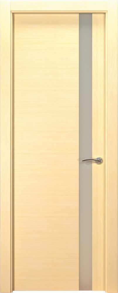 Двери Океан de Vesta L (беленый дуб), стекло белое