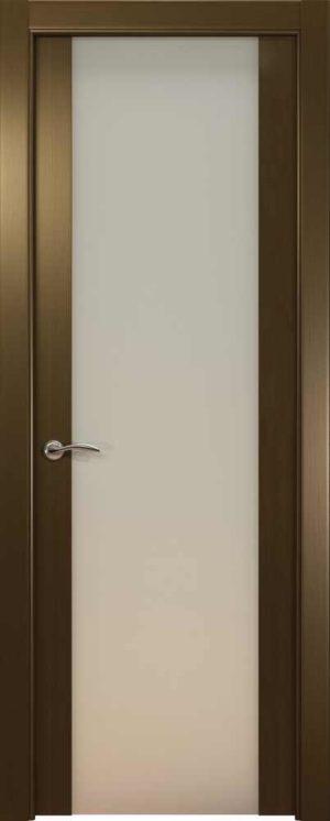 Двери Океан de Vesta P (венге), стекло белое