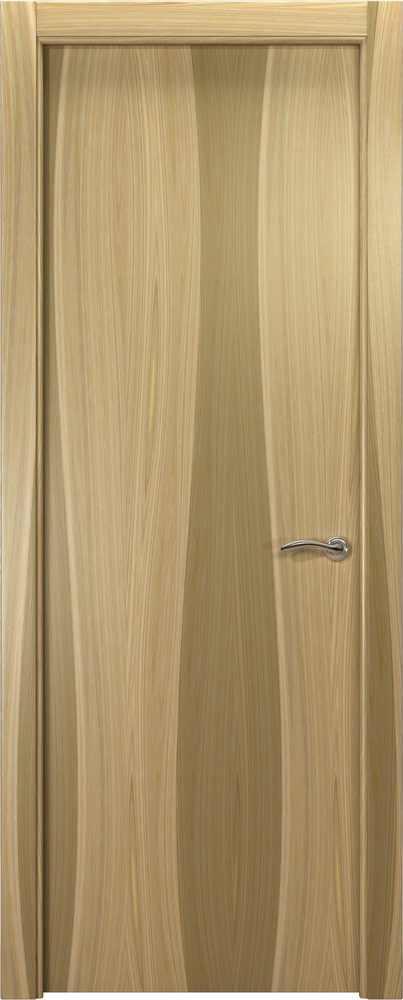 Двери Океан de Vesta P (орех светлый), глухая