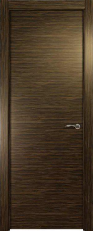 Двери Океан de Vesta P (светлый эбен), глухая