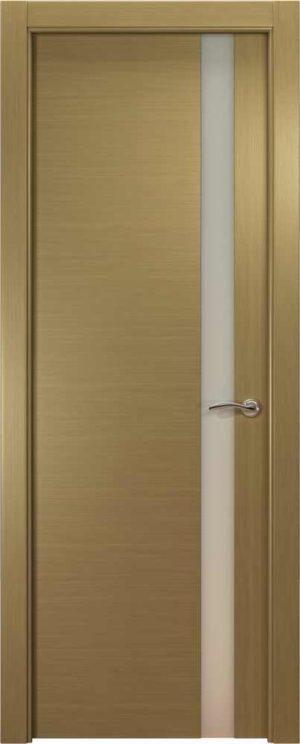 Двери Океан de Vesta L (серый дуб), стекло белое