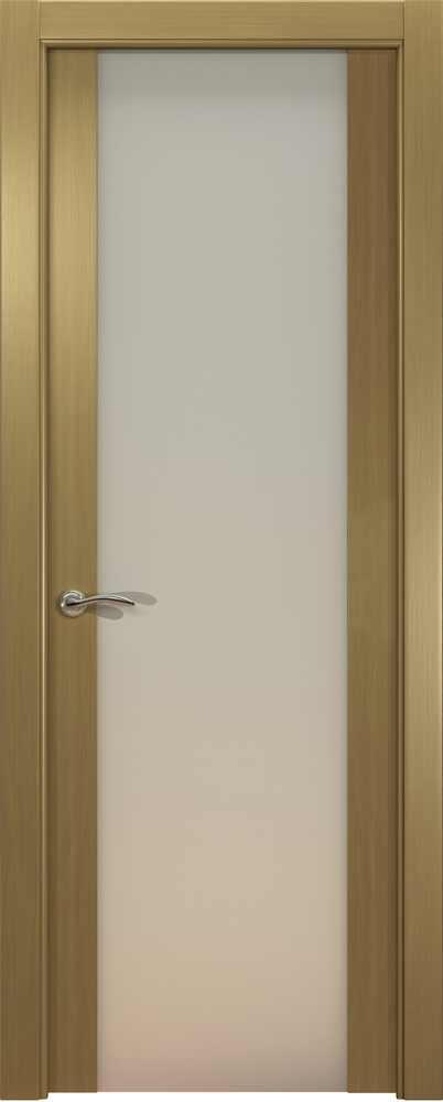 Двери Океан de Vesta P (серый дуб), стекло белое