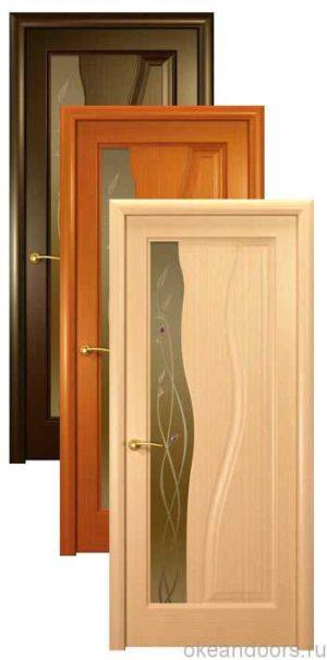 Коллекция дверей Океан Гольфстрим (3 цвета, бронзовое стекло)