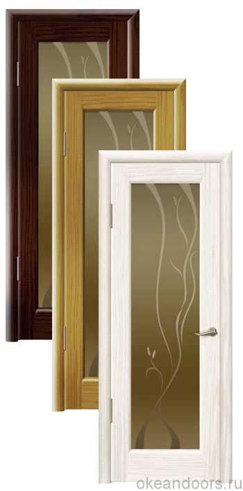 Коллекция дверей Океан Новая Волна P (10 цветов, бронзовое стекло)