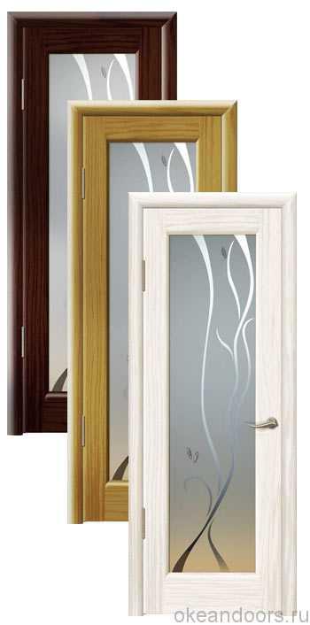 Коллекция дверей Океан Новая Волна P (10 цветов, белое стекло)