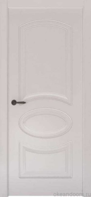 Дверь Океан Provence 1 (белая эмаль, глухая)