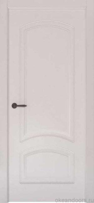 Дверь Океан Provence 4 (белая эмаль, глухая)